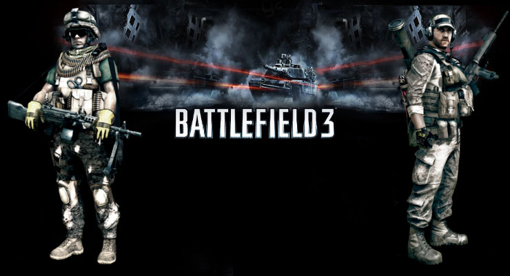 Samsung S5230 Battlefield3 wallpaper