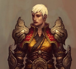 Diablo III Monk class fem.