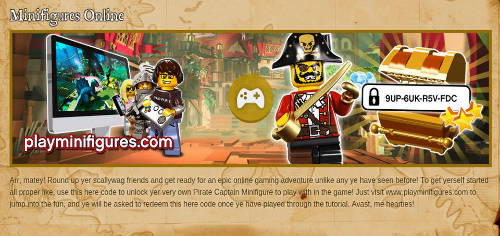 LMO Pirate Captain Code